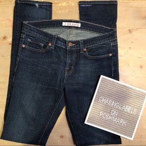 J Brand : 912 BDE skinny dark wash jeans
